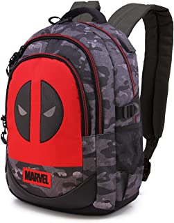 Deadpool Rebel - Mochila Running HS 1.2, Multicolor