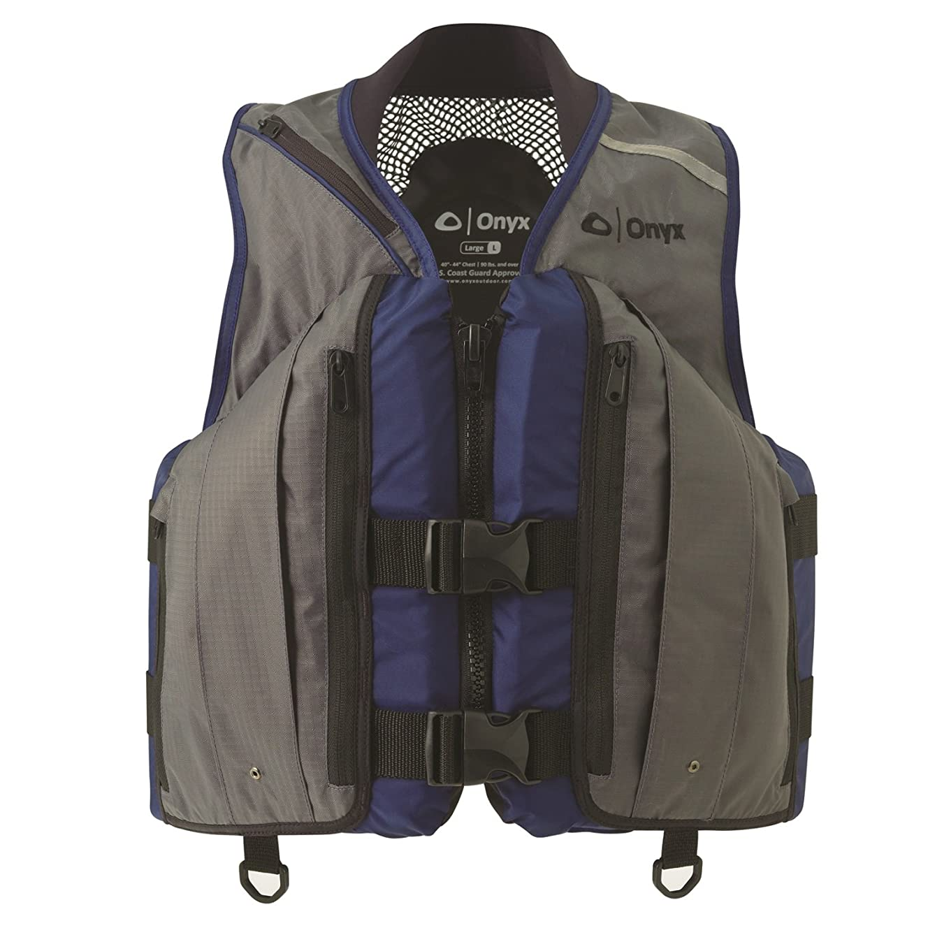 Onyx Mesh Deluxe Sport Vest - 3XL, Charcoal/Navy