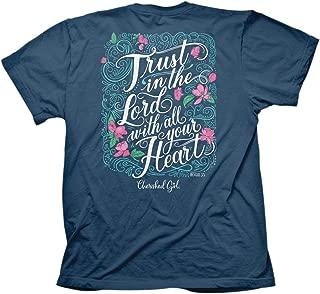 Cherished Girl Women's Trust in The Lord T-Shirt - Indigo -