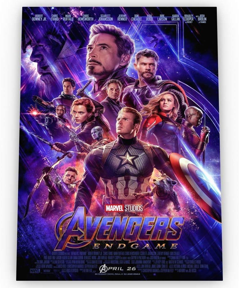Avengers Endgame POSTER Glossy Premium Borderless Movie Poster of Various  Sizes (POSTER - A2 size 23.4 x 16.5 Inch / 594 x 420 mm, Endgame (V1)):  Amazon.co.uk: Kitchen & Home