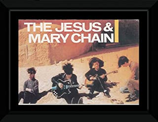 The Jesus and Mary Chain - Playing In The Sand Framed Mini Poster - 10.2x14.7cm