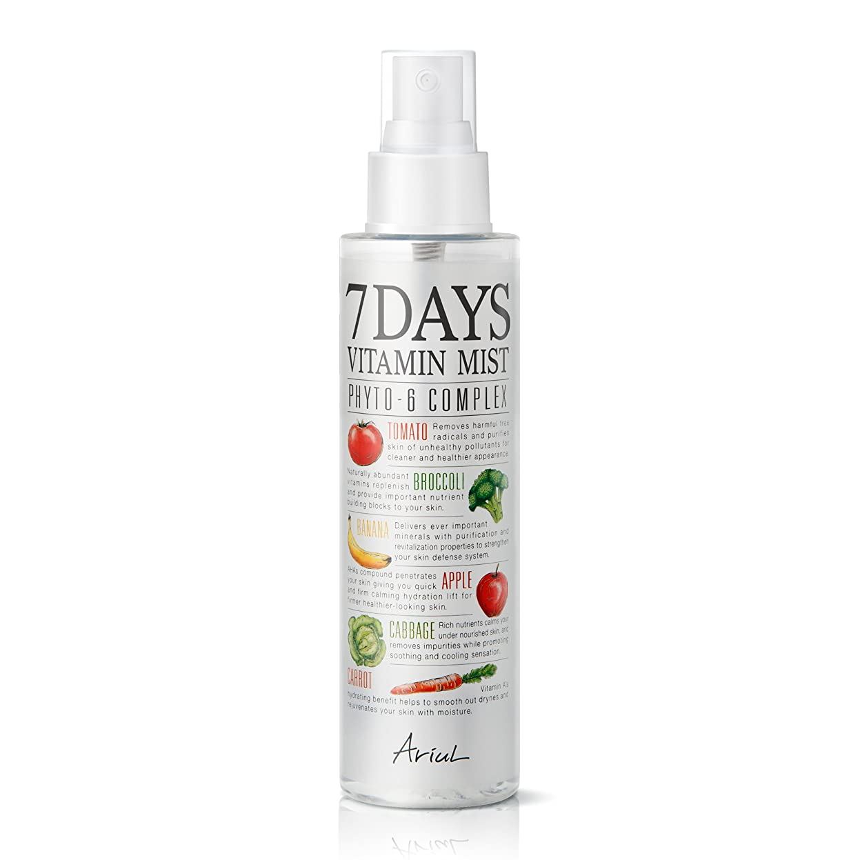 罰する透過性一貫性のないアリアル 7デイズビタミンミスト150ml / Ariul Natural Facial Face Mist 7 Days Vitamin Mist [並行輸入品]