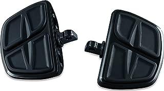 Kuryakyn 7612 Motorcycle Accessory: Kinetic Mini Board Floorboards with Male Mount Adapters, Gloss Black, 1 Pair