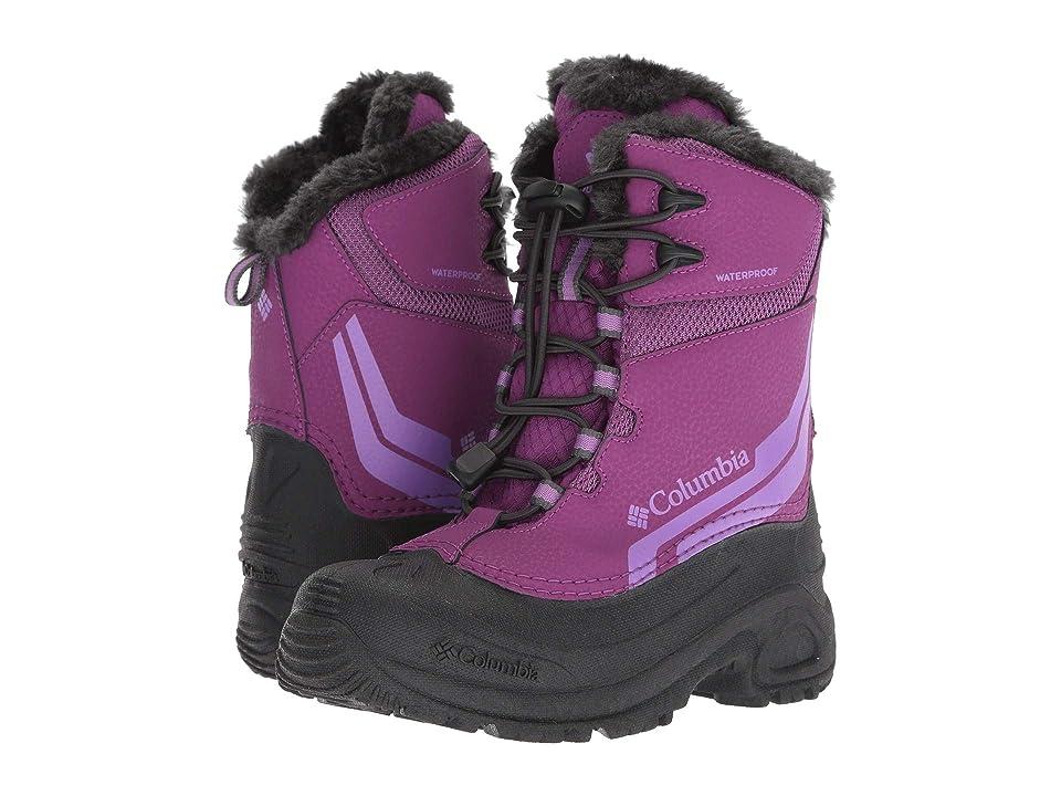 Columbia Kids Bugaboottm IV (Little Kid/Big Kid) (Plum/Crown Jewel) Girls Shoes