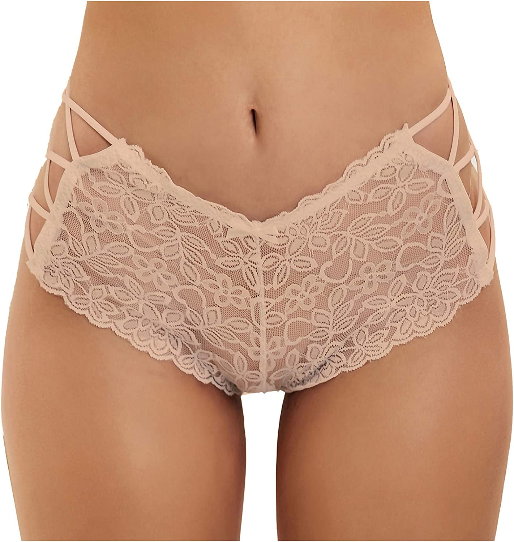 Women Intimates Sexy, Sexy Women's Lace Plus Size Lace Sexy High Waist Thong Underwear Panties