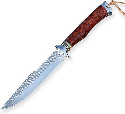 DELLINGER Bursch vg-10 & Damastmesser & Damaststahl Messer & Outdoor Damastmesser 130 mm Klinge B07Q3SDJX6 | Wirtschaftlich und praktisch