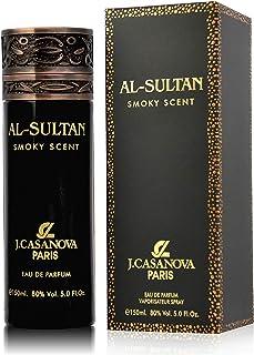 Al Sultan Smoky Scent Parfum for Men by J.casanova, Eau de Parfum, 150ml