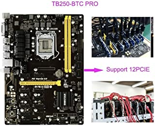 Biostar TB250-BTC Pro Ver. 6.x LGA 1151 (Zócalo H4) Intel® B250 ATX - Placa Base (DDR4-SDRAM, DIMM, 1866,2133,2400 MHz, Dual, Intel, Intel® Celeron®, Intel® Pentium®)