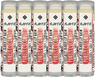 Alaffia Purely Coconut Lip Balm 6 Pack