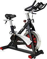 JOROTO دراجة ركوب الدراجات الداخلية مع تمارين مغناطيسية مقاومة دراجة ثابتة (الموديل: X2)