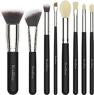 EmaxDesign 8 Pieces Makeup Brush Set Foundation Blush Lip Makeup Brushes