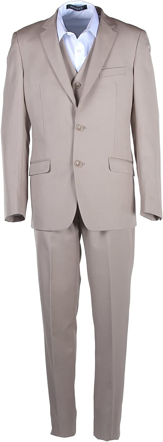 Boys El Paso Mall Slim Fit Tan Khaki Sizing sold out Suit in Toddlers to