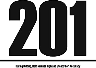 Bid Card - 201-300 (8.5-x-11-inch)