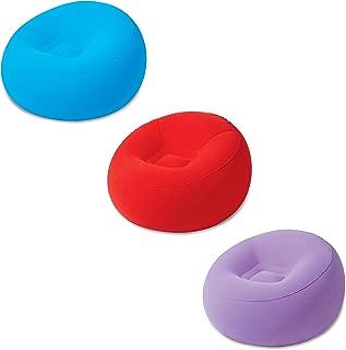 Bestway 75052 - Sillón Hinchable Inflate-A-Chair 112x112x66