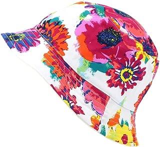 Hawkins Womens Ladies 100/% Cotton Reversible Rose Print Bush Bucket Sun Hat Cap