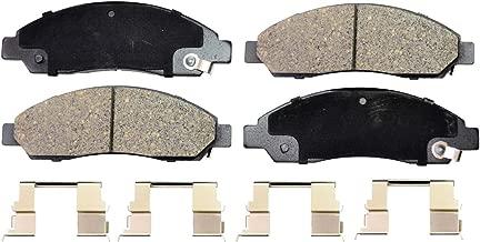 PT Auto Warehouse PT1039 - Ceramic Disc Brake Pad Set - Front