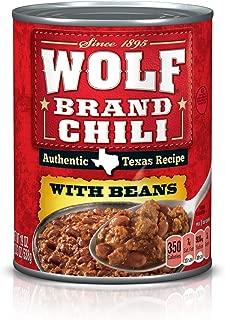wolf brand chili ingredients