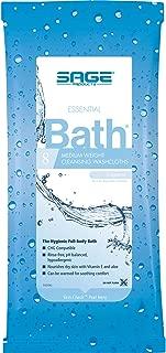 SAGE PRODUCTS Essential Bath Cleansing Washcloths Model: 7800
