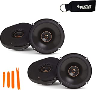 $149 » Infinity - Two Pairs of REF-6532IX Reference 6.5 Inch Two-Way car Audio Speakers