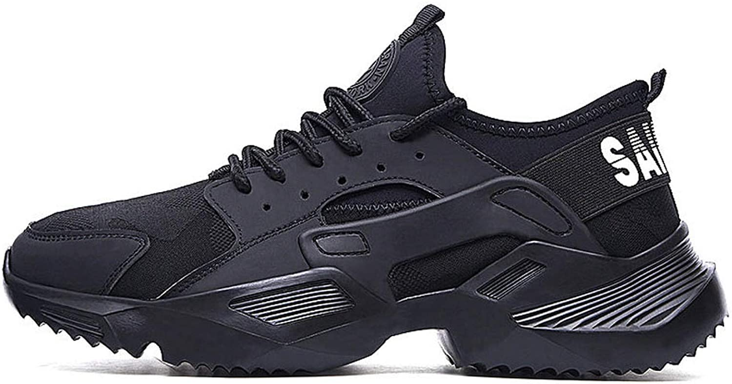 AGYE Safety Trainers Womens,Safety Shoes for Men and Women with Steel Toe Cap|Lightweight Breathable Work Shoes|Puncture-Proof Work Sneakers,BlackA-45