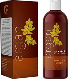 Pure Argan Oil Hair Growth Therapy Shampoo - Sulfate Free Dandruff Shampoo - Natural Treatment for Hair Loss for Men - Hai...