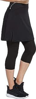 Women Modest Running Skirt Travel Skirts with Pocket Swim Skirt High Waist with Shorts