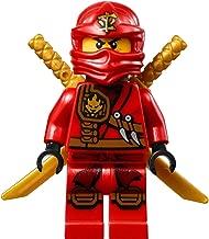 LEGO Ninjago Minifigure - Kai Zukin Robe (Red Ninja) with Dual Gold Swords (70745)