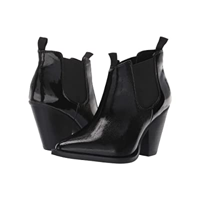 JANE AND THE SHOE Lila (Black Patent) Women