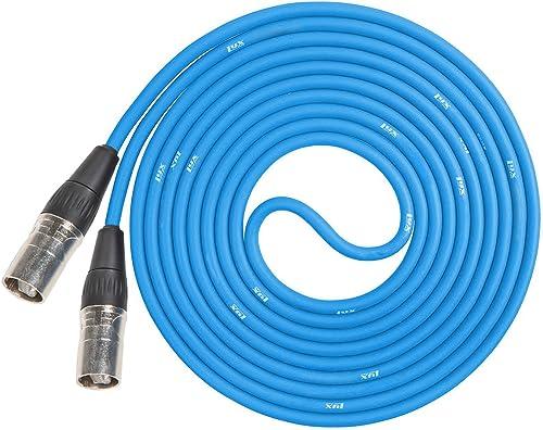 discount LyxPro wholesale CAT6 Shielded Ethercon RJ45 lowest Cable - 50' Feet Blue outlet sale