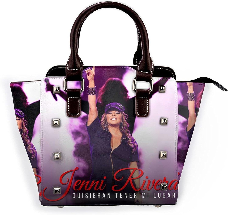 Jenni Rivera Womens Leather Shoulder Bag Tote Handbag Satchel Crossbody Bags Hobo Purse With Adjustable Shoulder Strap