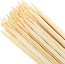 Whole Stix Bamboo Marshmallow Roasting Barbecue Sticks Extra Long Bamboo Skewers Perfect for Hot Dog Camping Bonfires 100% Biodegradable 150 Pc