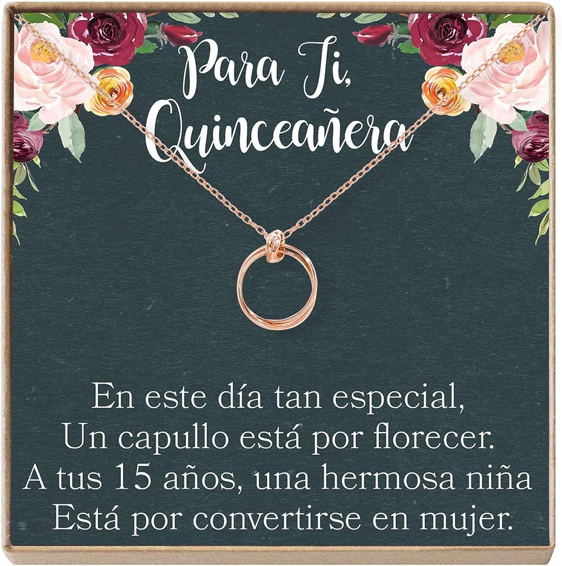 Quinceañera Gift Necklace: Regalos Sw Jewelry Discount is also underway Para Max 65% OFF