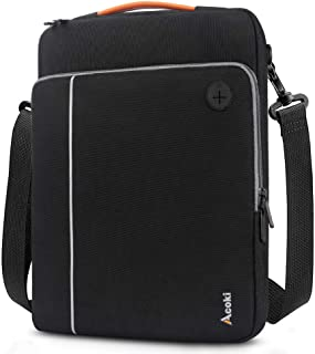 Acoki 13-14.1 Inch Laptop Shoulder Bag for 13.3 Inch MacBook Air, 13-inch MacBook Pro Retina, Cross-body Notebook Briefcas...