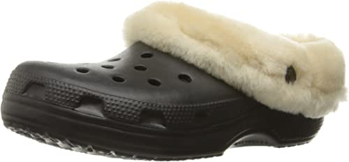 Crocs Sabots - Classic Mammoth Luxe Clogs - noir