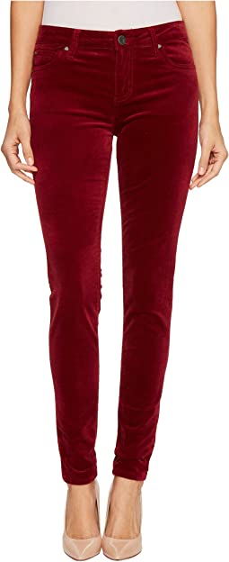 KUT from the Kloth Mia Toothpick Skinny in Red