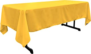 Best yellow table clothes Reviews