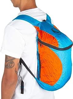 Ticket To the Moon Mini Backpack | Eco-Friendly | 28x42x15 cm | 15L Capacity (Royal Blue/Orange)