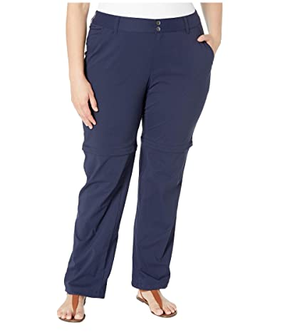 Columbia Plus Size Saturday Trailtm II Convertible Pant (Dark Nocturnal) Women