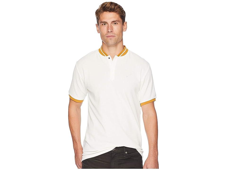 Publish Osmund Baseball Polo (White) Men