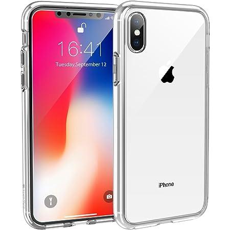Syncwire Coque Compatible avec iPhone X - Transparente Housse de Protection en Silicone Rigide Anti Choc Étuis pour iPhone 10 / X (2017) - Transparent