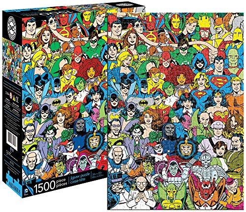 AQUARIUS Rompecabezas Comics DC, Universo Retro 1500Piezas