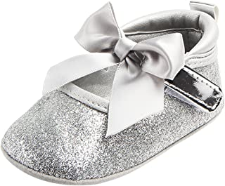 Perfeclan Baby Girls Children Bowknot Girls Flat Princness Beach Party Casual Shoes