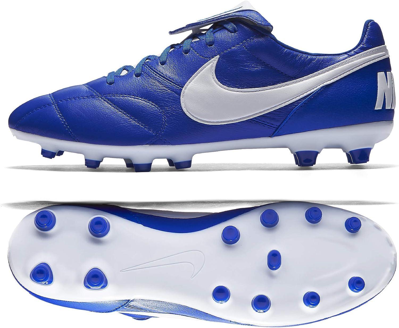 Nike Nike Nike Premier II Leder Babysitter-Sohle FG Blau Weiß Erwachsene  258d98