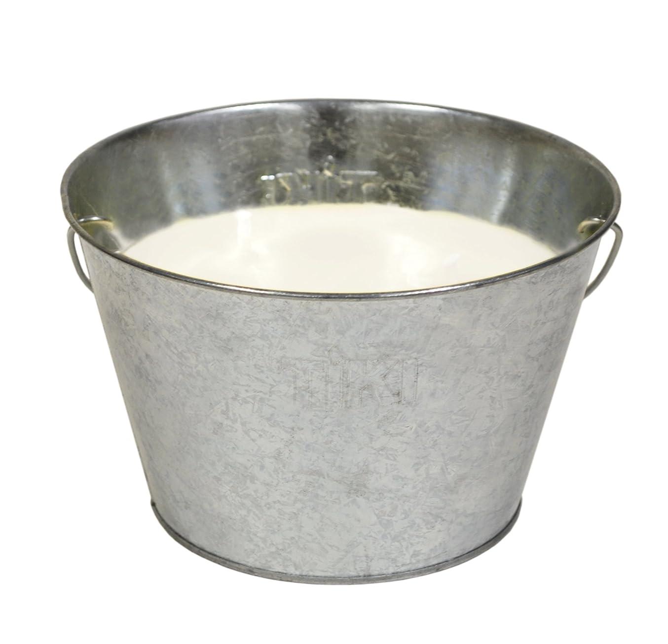 TIKI Brand Triple-Wick Galvanized Citronella Candle Bucket, 28 Ounce