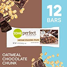 ZonePerfect Protein Bars, Oatmeal Chocolate Chunck, High Protein, With Vitamins & Minerals (12 Count)