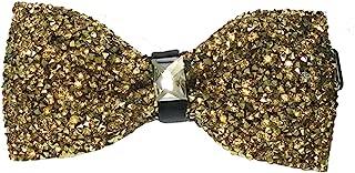 black sparkly bow tie
