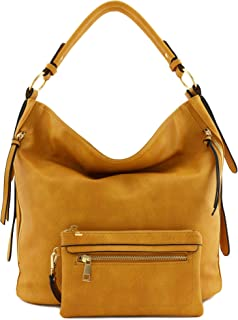 10f82061d0 Amazon.com  mustard handbags for women - Prime Eligible   Hobo Bags ...