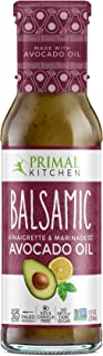 Primal Kitchen - Avocado Oil-Based Dressing and Marinade, Balsamic Vinaigrette, 1 Count, Whole30 and Paleo Approved