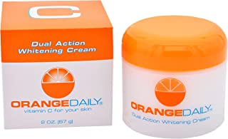 OrangeDaily Vitamin C Dual Action Face Moisturizing Whitening Cream with Lactic Acid, 2 Ounce