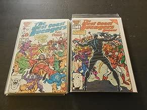 12 West Coast Avengers Issues Annuals 1-3; #12-15, 17-21 Marvel Comics
